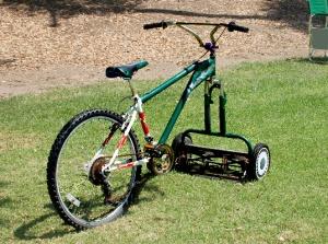 bicicletta taglierba