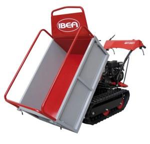 minitransporter IBEA con il kit sovrasponde tubolari