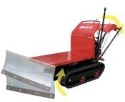 minitransporter IBEA dotato della lama neve