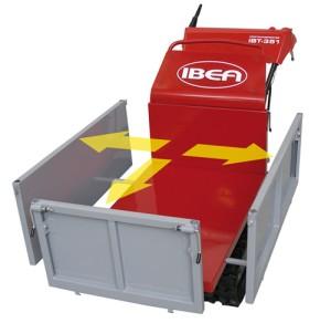 minitransporter Ibea kit sponde chiuse