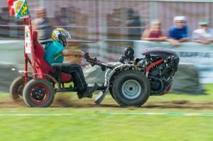 motocoltivatore con sedile