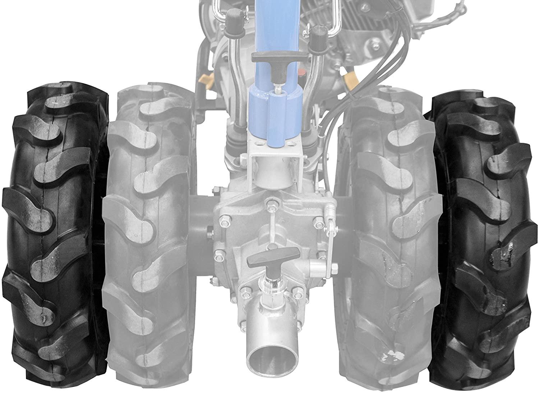 Set ruote doppie per motocoltivatore