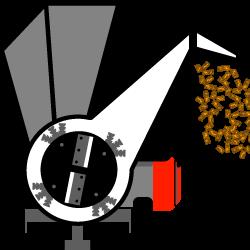 5 - biotrituratori a scoppio con disco + martelli