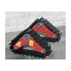 cingoli per motocoltivatori in ferro