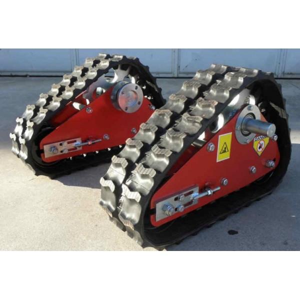 Cingoli per motocoltivatori e motozappe hobby for Trincia bertolini