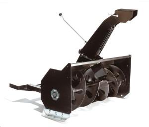 spazzaneve turbina trattorino