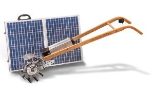 motozappa Tillie pannello solare