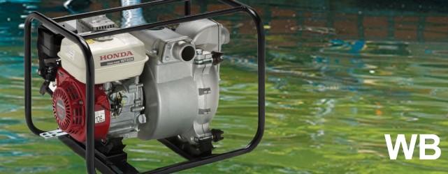 Motopompa Honda WB 20 e 30 XT
