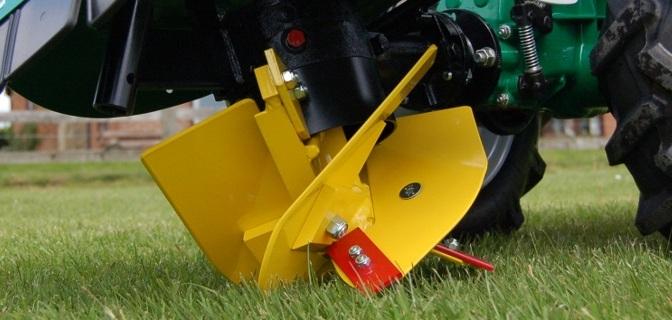 Aratro rotativo BERTA per motocoltivatore