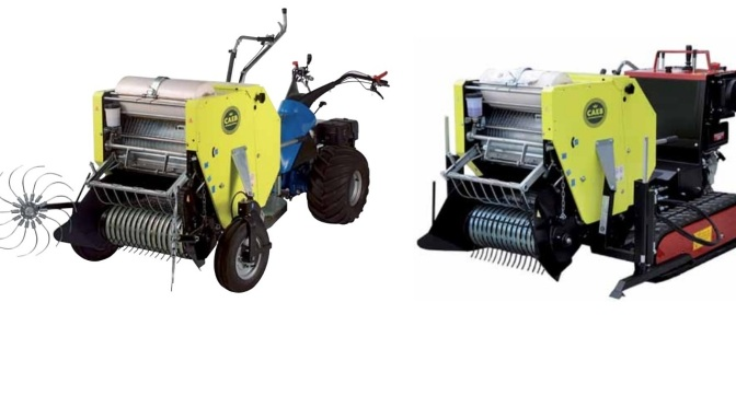 Imballatrice CAEB per motocoltivatori e motocarriole