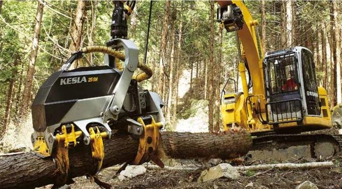 Raccoglitori forestali KESLA