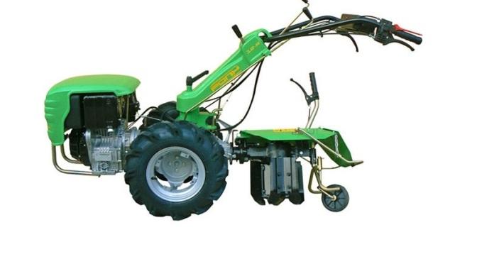 Aratro rotativo reversibile Casorzo per Motocoltivatore